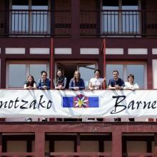 Zornotzako Barnetegia: balkoia