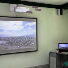 Zornotzako Barnetegia: ikasgela bateko arbel digitala